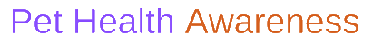 Pet Health Awareness Logo